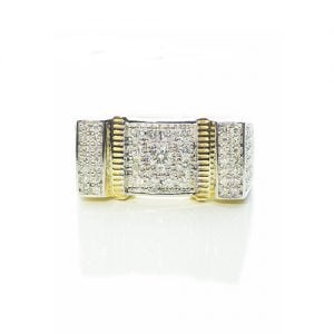 Guru Diamond ring,signet diamond ring,diamon mens ring,mens ring,gold,9ct,9k,18k,18ct,375,750,gents diamond ring