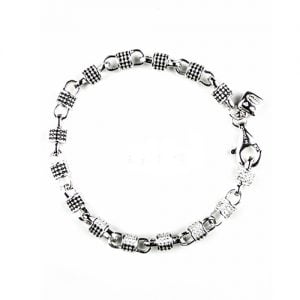Looney Double Sided Black N White Silver,Topjewellery,bracelet,biirmingham,,925