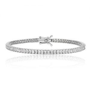 Princess cut Silver tennis Bracelet,925,9ct,18ct,14ct,topjewellery,top,jewellery,topjewelleryukBirmingham,Jewellery Quarter