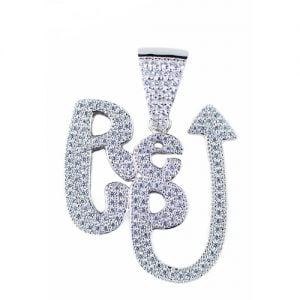 Re-Up silver pendant,silver pendant,topjewelleryuk,top jewellery,silver,925,iced out