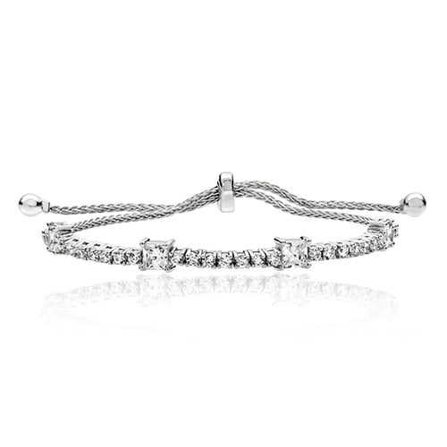 Silver Pull & Rub over tennis Bracelet 4mm,adjustble bracelet,925,9ct,18ct,14ct,topjewellery,top,jewellery,topjewelleryukBirmingham,Jewellery Quarter