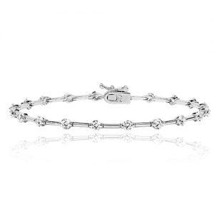 Silver tennis Bracelet Fancy,925,9ct,18ct,14ct,topjewellery,top,jewellery,topjewelleryukBirmingham,Jewellery Quarter