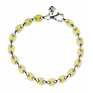 Two Color Mular silver bracelet, topjewelleryuk,top jewellery,sivler bracelet 925, birmingham