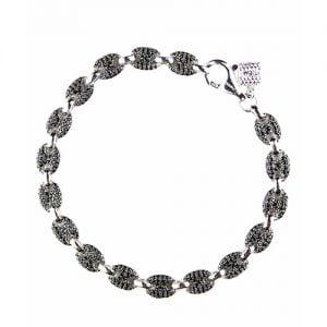 Mular Double Sided Black N White Silver,Topjewellery,bracelet,biirmingham,,925