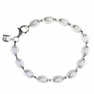 white cz Devante silver bracelet, topjewelleryuk,top jewellery,sivler bracelet 925, birmingham.2