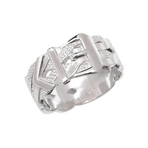 Buckle Sterling silver Signet ring 925,Signet ring, Top Jewellery UK,Birmingham,Topjewelleryuk,10mm
