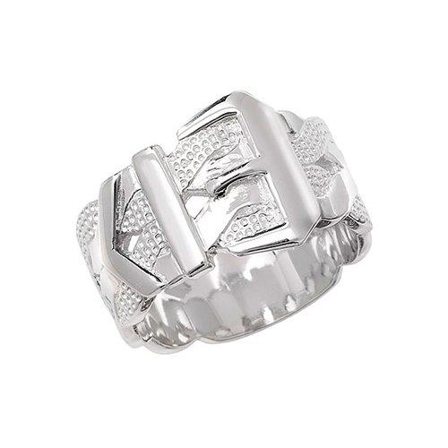 Buckle Sterling silver Signet ring 925,Signet ring, Top Jewellery UK,Birmingham,Topjewelleryuk,14 mm