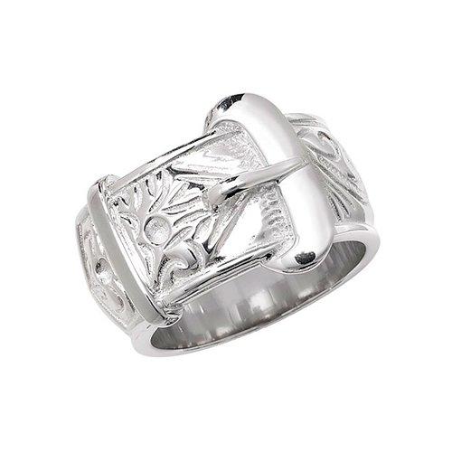 Buckle Sterling silver Signet ring 925,Signet ring, Top Jewellery UK,Birmingham,Topjewelleryuk,17mm
