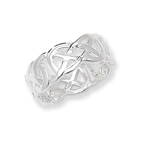 Celtic Sterling silver Signet ring 925,Signet ring, Top Jewellery UK,Birmingham,Topjewelleryuk,10mm