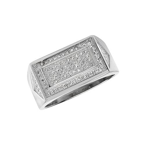 Cz mens ring Sterling silver Signet ring 925,Signet ring, Top Jewellery UK,Birmingham,Topjewelleryuk,10 mm