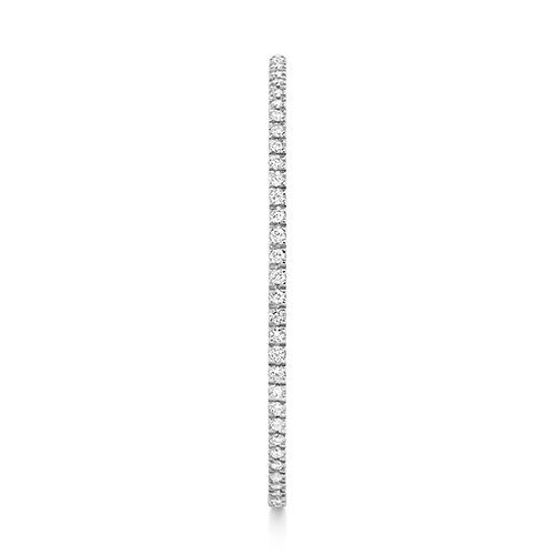 Diamond hoops earrings 18ct white gold 1.16 ct,G-H color, VS,SI,topjewelleryuk,topjewellery birmingham.2