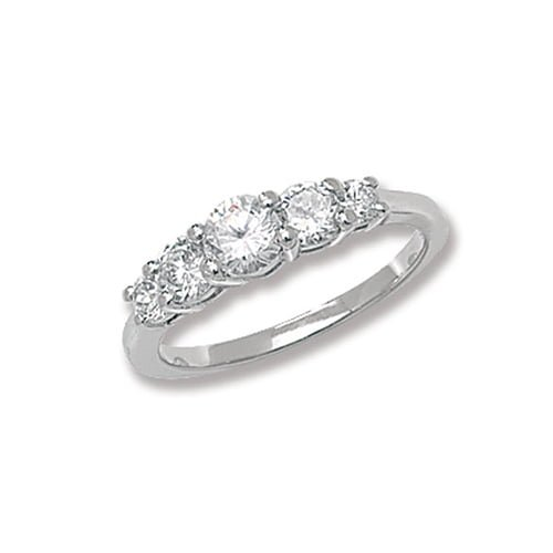 Fancy Ladies 3 Trilogi Cz Patterned Sterling silver Signet ring 925,Signet ring, Top Jewellery UK,Birmingham,Topjewelleryuk