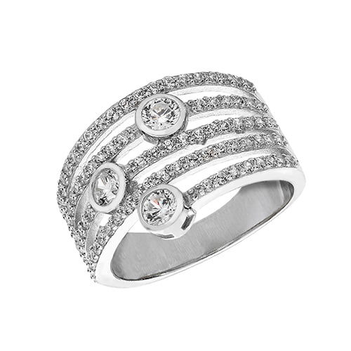 Fancy Ladies Cz Patterned Sterling silver Signet ring 925,Signet ring, Top Jewellery UK,Birmingham,Topjewelleryuk