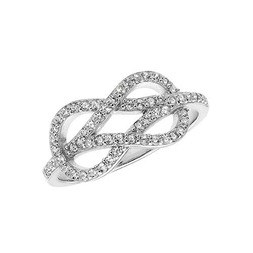 Fancy Ladies Knot Cz Patterned Sterling silver Signet ring 925,Signet ring, Top Jewellery UK,Birmingham,Topjewelleryuk