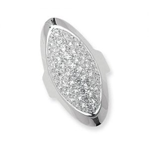 Fancy Oval Ladies Wide Cz Patterned Sterling silver Signet ring 925,Signet ring, Top Jewellery UK,Birmingham,Topjewelleryuk