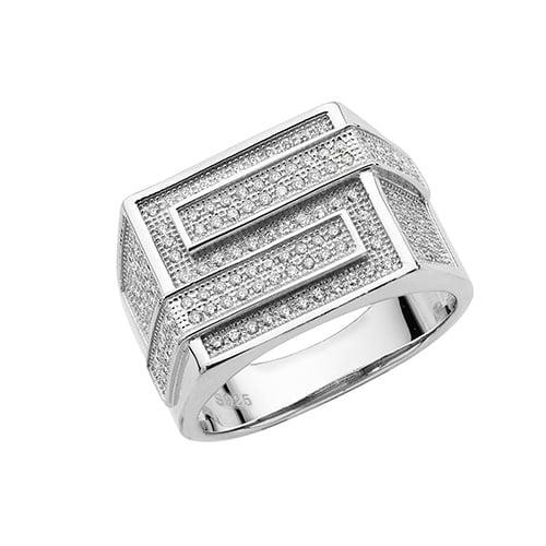 Laborynt Cz mens ring Sterling silver Signet ring 925,Signet ring, Top Jewellery UK,Birmingham,Topjewelleryuk,13 mm