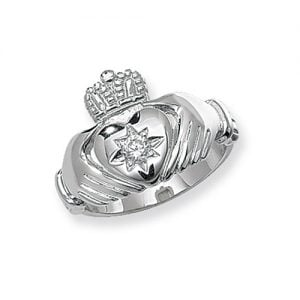 Mens Ring, Gents,Mens,Claddagh Sterling silver Signet ring 925,Signet ring, Top Jewellery UK,Birmingham,Topjewelleryuk