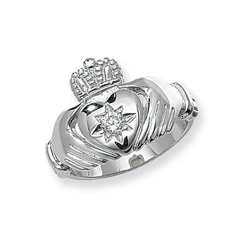 Mens Ring, Gents,Mens,Claddagh Sterling silver Signet ring 925,Signet ring, Top Jewellery UK,Birmingham,Topjewelleryuk