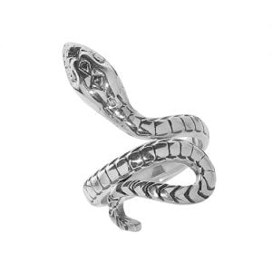 Snake Ladies Cz Patterned Sterling silver Signet ring 925,Signet ring, Top Jewellery UK,Birmingham,Topjewelleryuk