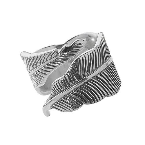 leaf Ladies Cz Patterned Sterling silver Signet ring 925,Signet ring, Top Jewellery UK,Birmingham,Topjewelleryuk