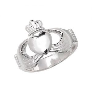plain Claddagh Mens Ring, Gents,Mens,Claddagh Sterling silver Signet ring 925,Signet ring, Top Jewellery UK,Birmingham,Topjewelleryuk