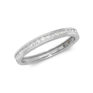 Diamond chanel set 18k, 9ct white gold 0.25 ct,F-G color, VS1,topjewelleryuk,topjewellery birmingham