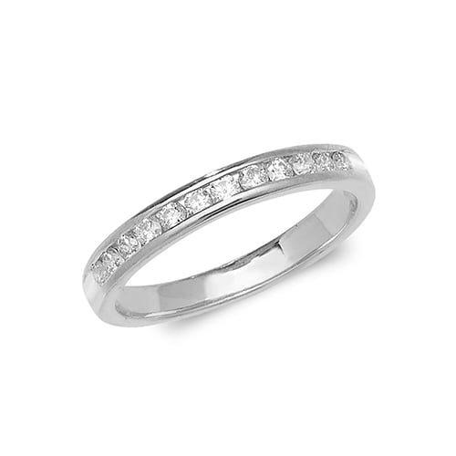 Diamond chanel set 18k, 9ct white gold 0.33 ct,F-G color, VS1,topjewelleryuk,topjewellery birmingham