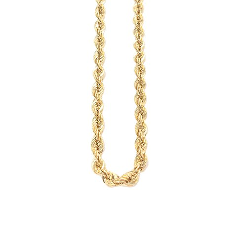 Rope Gold Chain in Yellow & White gold 14ct,topjewelleryuk,topjewellery birmingham.5q