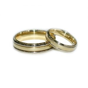 Two-toned-gold-wedding-band-18ctyellow-gold-white-goldangel-yellow-gold-58514ktopjewelleryuk.3